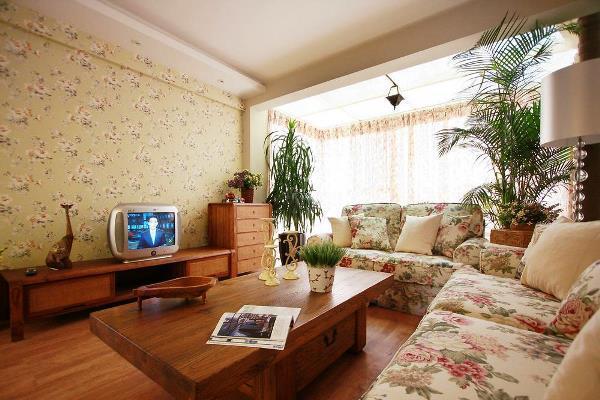 Обои в стиле прованс: фото в интерьере, для стен кухни и в спальню, в цветочек для комнаты гостиной, кантри
