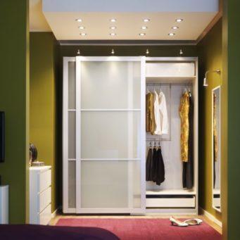 Шкаф-купе в прихожей: фото и идеи дизайна, интерьер и ширина фасадов, готовые красивые шкафы, белая часть
