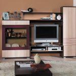 Стенки под телевизор в гостиную: ТВ и фото, без места мини-зал, ниши угловые, Милано недорогие и большие