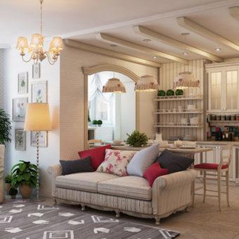 Дизайн спальни-гостиной фото 2020 современные идеи: в стиле прованс, скандинавский в комнате, лофт и классика