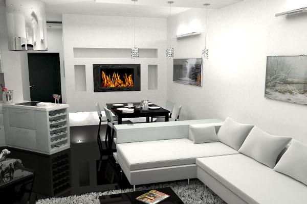 Однотонные обои: для стен с рисунком, фото в интерьере, бумажные бежевые, виниловые и флизелиновые для кухни