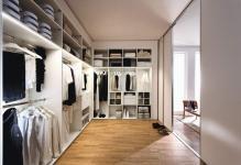 Гардеробная комната в доме: мебель в частный, в домашних условиях, фото как самому сделать, в коттедже
