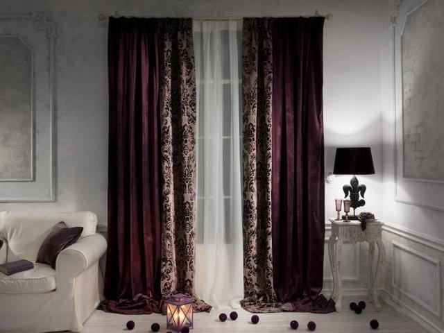 Органза фото: комбинированные шторы, новинки и тюль на окнах, что это за ткань двух цветов, занавески с рисунком