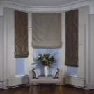 Шторы на эркерное окно в гостиной фото: карнизы на эркер из трех окон, дизайн кухни в доме, оформление спальни