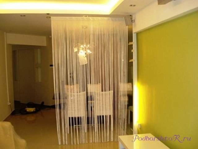 Шторы-перегородки: японские в комнате, фото, тканевые жалюзи для разделения, раздвижные своими руками из ткани