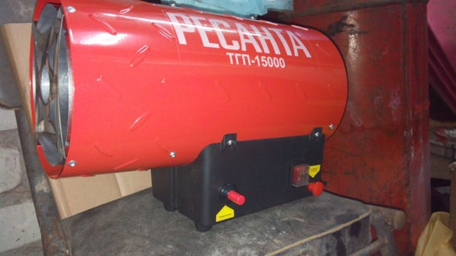 Газовая пушка для натяжных потолков: без газа и тепловая, мощность баллона, какую выбрать в помещение из газосиликатного блока