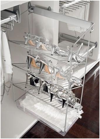 Полки для обуви в гардеробной: комната глубокая, расположение своими руками, фото и размеры, как сделать систему