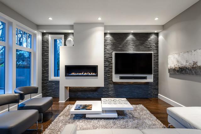 Двухуровневые потолки из гипсокартона для гостиной фото: с подсветкой, одноуровневые и натяжные, дизайн и фото