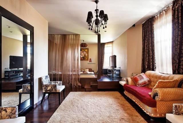 Красивый зал: фото в квартире, обстановка в доме, сделать интерьер руками, поклейка комнаты 5 5, картинки