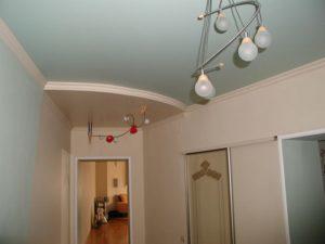 Потолка в коридоре: фото ремонта и дизайна квартиры, как сделать своими руками, как оформить длинный и глянцевый, какой лучше, красивая отделка