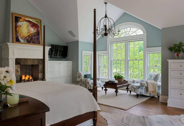 Спальня двух цветах фото: дизайн интерьера комнаты, 2 цветовых сочетания