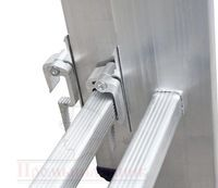 Алюминиевая лестница-стремянка: трансформер на 7, 5 и 6ступеней, Алюмет профессиональная на 2 и 10 ступеней