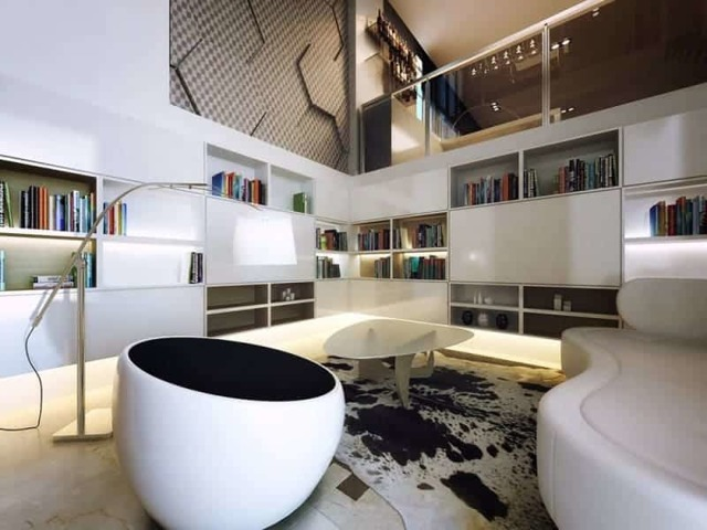 Современные лестницы: в стильном и современном интерьере гостиной, фото в коттедже, идеи мира, модерн в доме, белая и деревянная хай-тек