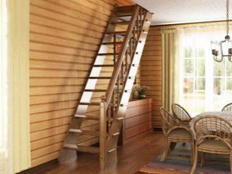 Деревянные лестницы на второй этаж: в доме фото, своими руками межэтажные, изготовление из дерева конструкций
