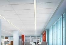 Кассетные подвесные потолки: со скрытой системой, металлический Албес, алюминиевые типы, фото монтажа