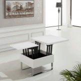 Журнальный стол-трансформер для гостиной: фото в интерьере, мебель красивая и недорогая, чем можно заменить в зале