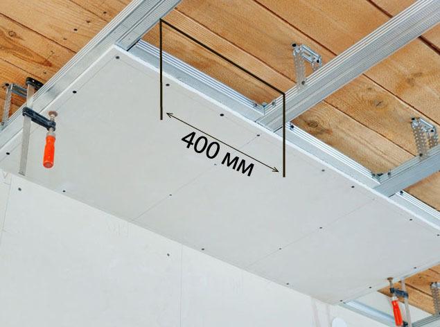 Обрешетка под гипсокартон: деревянную как сделать, монтаж правильный, установки шаг, из профиля под ГКЛ