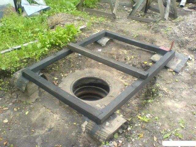Септик из покрышек: сделать своими руками колодец из колес и шин, канализация отличается от выгребной ямы