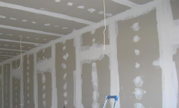 Обои на гипсокартон как клеить: стены, можно ли отделать жидкими, чем обработать перед, как снять старые