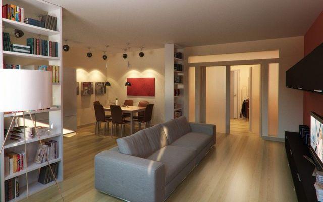 Зонирование кухни и гостиной: дизайн и фото, как разделить зоны пространства, спальня и комната отдыха, варианты