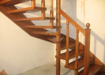 Лестница на больцах: пространство под конструкцией, изготовление комплектующих, фото своими руками и отзывы