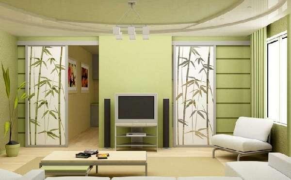Перегородки из гипсокартона фото дизайн интерьера: декоративный шкаф, красота своими руками, отделка и варианты