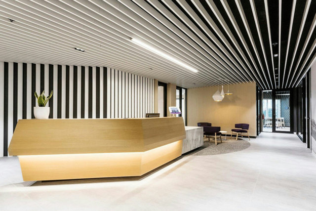 Реечный потолок: фото пластиковой отделки, виды кубообразного, комплект Бард, расчет зеркального и из пластика, производители конструкций