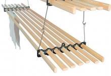Бельевые веревки на балкон: сушка белья и фото повесить, как натянуть крепление, завязать и закрепить, сделать