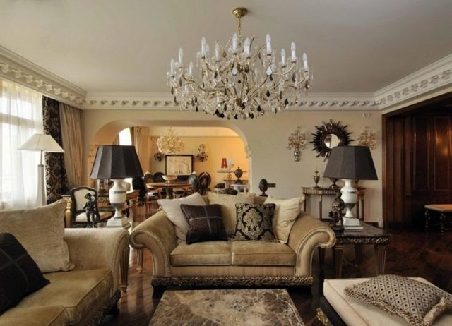 Люстры для комнат с низким потолком: фото потолочных и недорогих, в гостиную и в зал для невысоких, в интерьере спальни в квартире