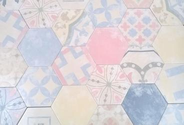 Плитка пэчворк: в стиле, напольная и керамическая, российский керамогранит, фото
