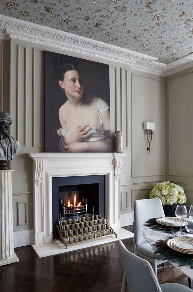 Обои в классическом стиле: в интерьере фото, для стен в спальню и на кухню, какие английские, бежевые в зал