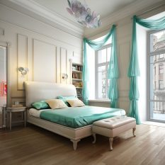 Тюль для гостиной: люверсы и фото, красивый ламбрекен и сетка в интерьере, шторы в современном стиле