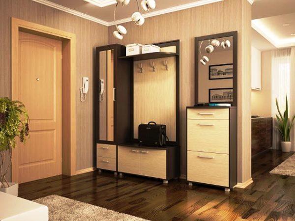 Обои в коридор: фото в квартире для прихожих, отделка камнем, узкие стены в маленькой хрущевке, выбрать в полоску