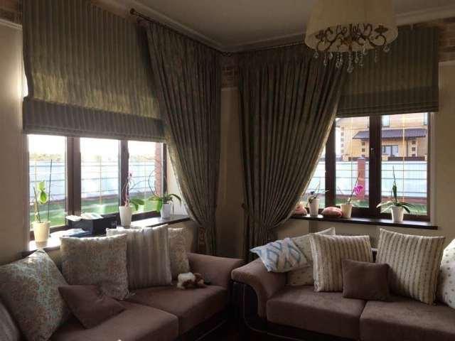 Модные шторы: стильные для гостиной, фото новинок, бархат и велюр, портьеры Элит в современном интерьере