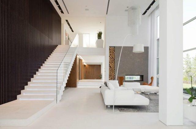 Стили деревянных лестниц: лофт и прованс, скандинавская и классическая на второй этаж, фото в интерьере