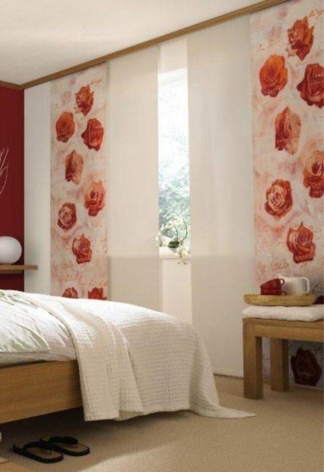Японские шторы фото: панели в китайском стиле, жалюзи в интерьере кухни, занавески с рисунком в спальне, видео