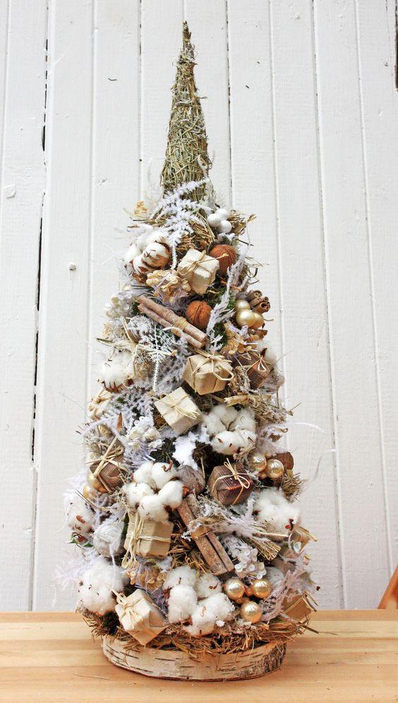 Новогодний топиарий: фото, как сделать своими руками, елка 2020, идеи для мастер-класса, пошаговая инструкция