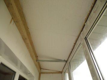 Как утеплить потолок на балконе своими руками: утепление потолка на лоджии, видео с пеноплексом и пенопластом