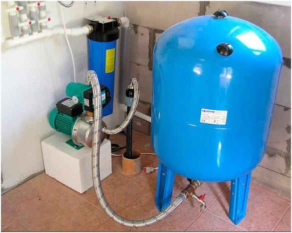 Гидроаккумулятор для систем водоснабжения: гидробаки и устройство для холодного, давление 100 литров