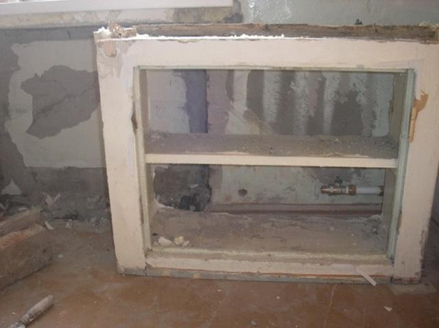 Холодильник под окном в хрущевке: фото отделки