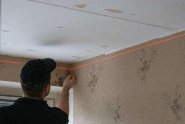 Подвесной потолок своими руками пошаговая инструкция: навесной как сделать, фото, видео из чего