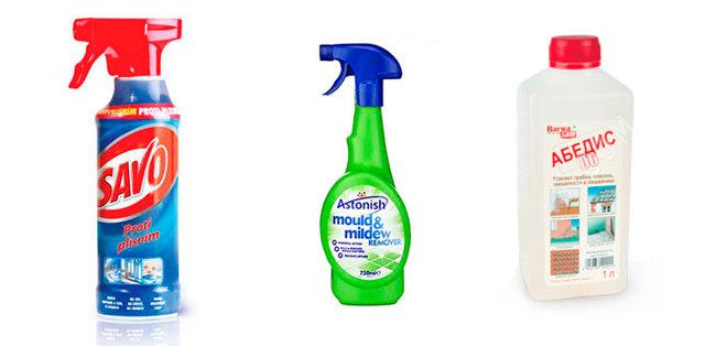 Как избавиться от плесени в ванной комнате народными средствами и химикатами от грибка