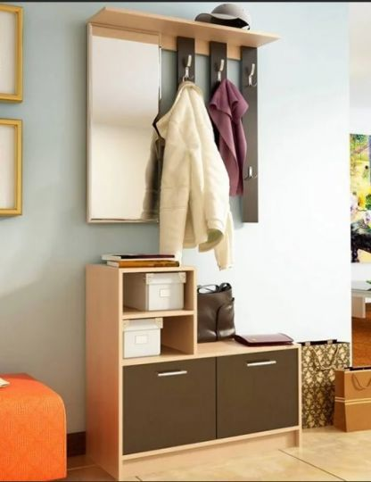 Мини-прихожие: для маленького коридора фото, лайт американские, недорогие шкафы, угловые арт с зеркалом