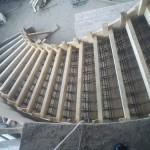 Маршевая лестница: бетонная и угол наклона марша, одномаршевая на второй этаж, как сделать самому, размеры
