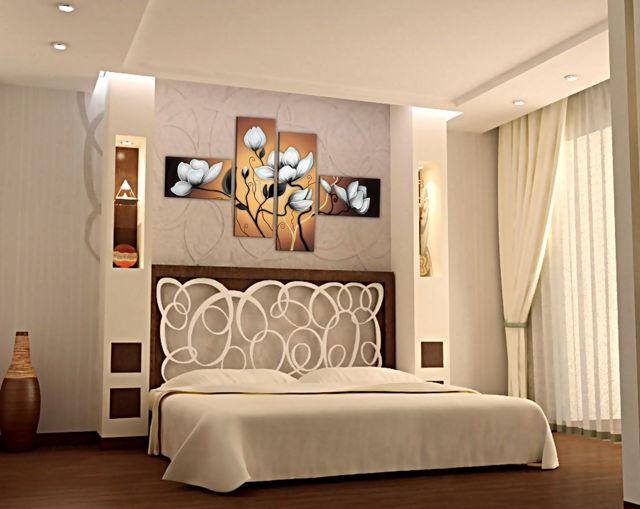 Арки из гипсокартона: фото дизайна интерьера, виды квартир, конструкция и формы полок, ГКЛ красивый над кроватью