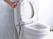 Гигиенический душ: в туалете для унитаза, фото со смесителем, установка сантехнической лейки для биде