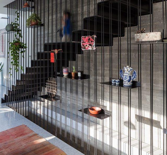 Лестница на второй этаж своими руками: изготовление из дерева, камня, металла