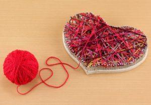 Панно из ниток и гвоздей: своими руками схемы, сердце для вязания, фото и мастер-класс, как сделать рисунок