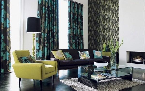 Портьеры для гостиной фото: дизайн зала 2020 года, красивые новинки, как подобрать стильное готовое оформление