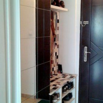 Шкаф для обуви в прихожую узкий: фото под одежду, купе для хранения, угловой Икеа в коридор